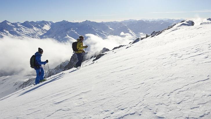 Skitour in Disentis Sedrun