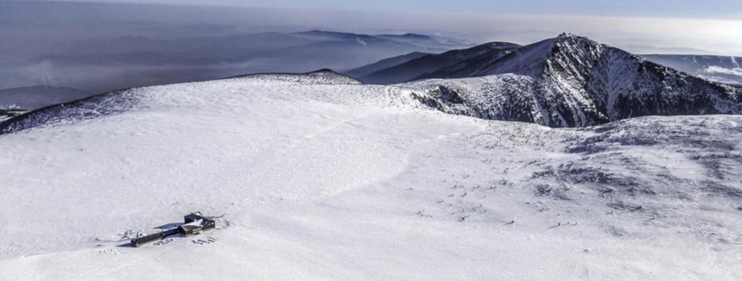 Winterliches Riesengebirge