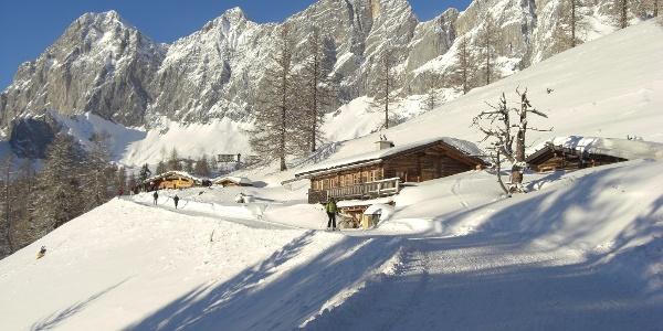 Skiweg zur Brandalm
