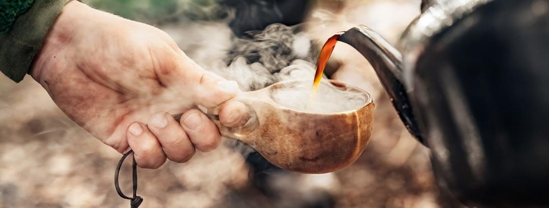 Kaffeepause am Immeln-See