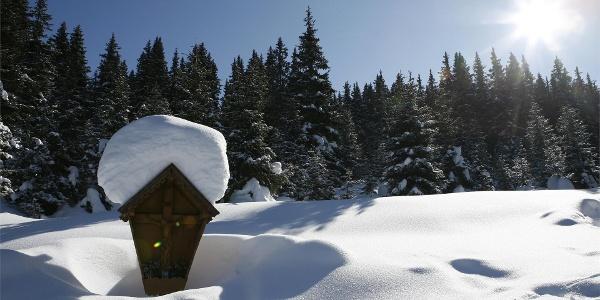 Winterrundwanderung Mittertal - Obertal