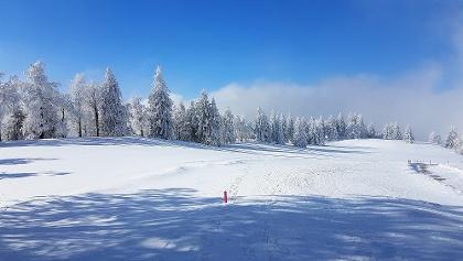 Winterliche Grenchenberge.
