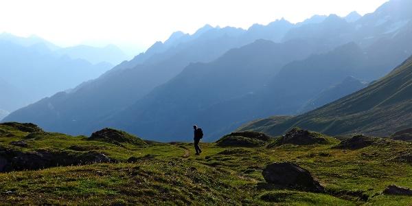 Landschaft nahe der Capanna Corno Gries.