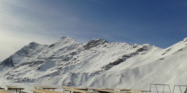 terras van Buvette la Marmotte