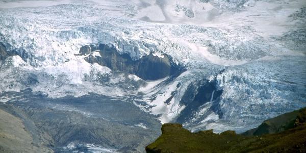 Gletscherzunge des Mýrdalsjökull