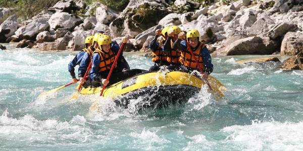 positive sport rafting