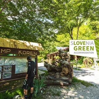 Kamp Koren kobarid - Slovenia Green Accommodation logo