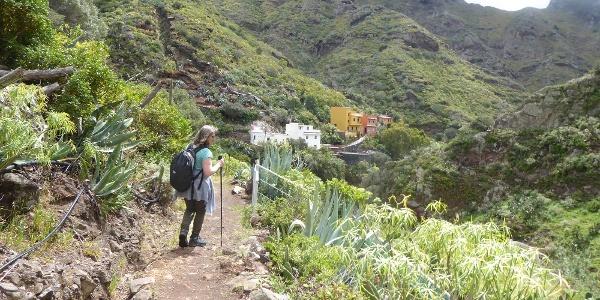 Im Abstieg nach Valle Brosque