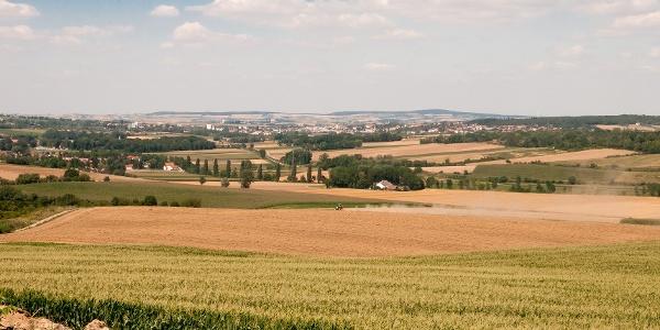 Aussicht ins westliche Weinviertel