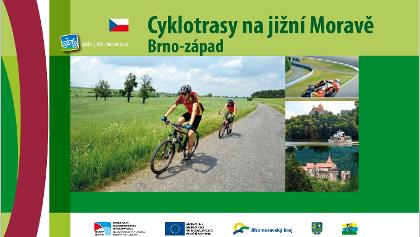 Cyklotrasy na JM Brno zapad Cover