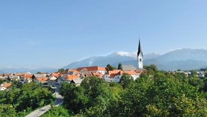 The medieval town of Radovljica