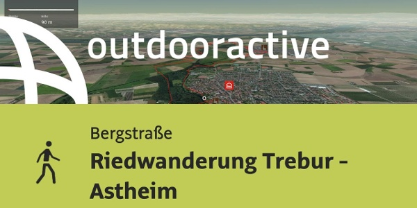 Wanderung im Hessischen Ried: Riedwanderung Trebur - Astheim