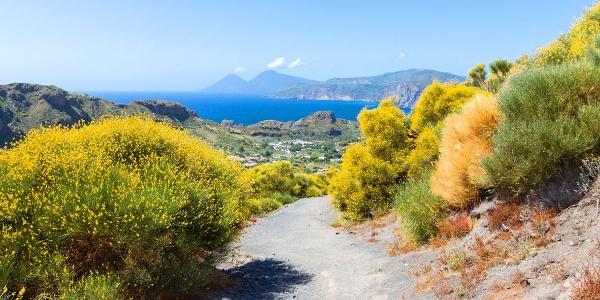Wanderweg liparische Inseln