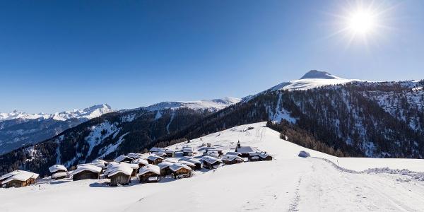 Winterwanderweg Muttner Höhi