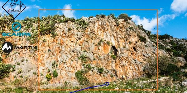 Klettergarten Cerriolo - Cactus Garden Topo - Übersichtsbild
