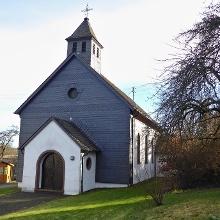Geöffnete Kirche in Elzerath