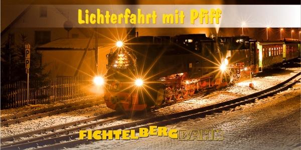 Bewirtete Lichterfahrt mit Pfiff
