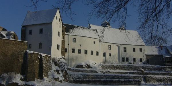 Lauenstein im Winter