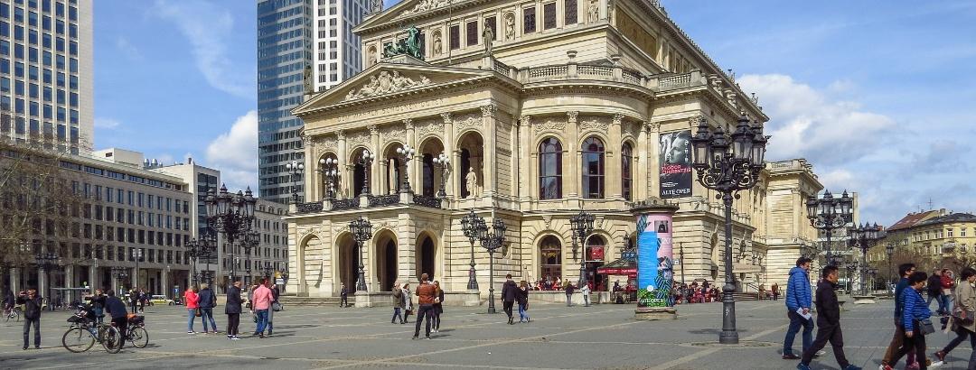 Die Alte Oper in Frankfurt
