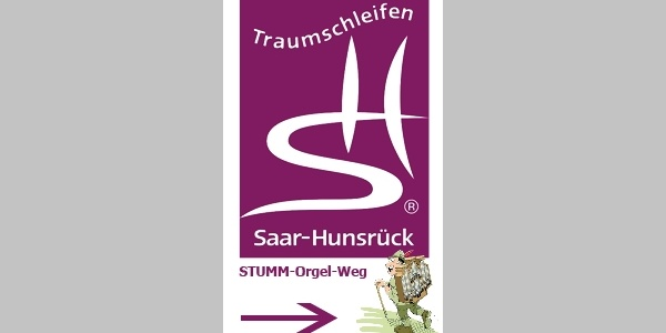 """Logo Traumschleife """"STUMM-Orgel-Weg"""