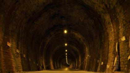800-m tunnel at Stavelot
