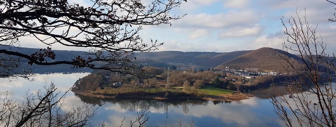 Blick auf die Halbinsel Scheid