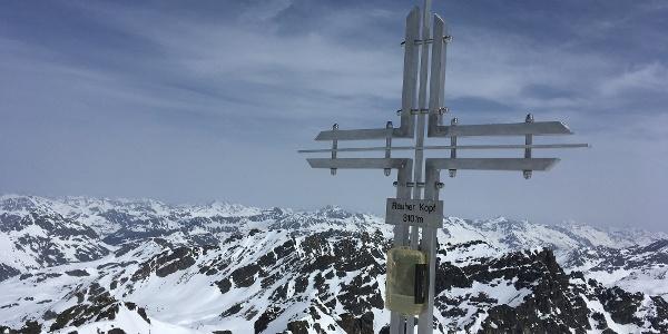 Gipfelkreuz Rauher Kopf