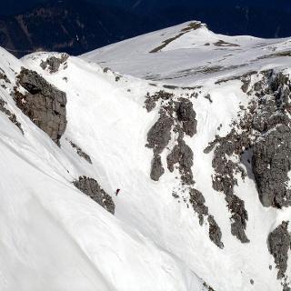 Breite Ries: Blick vom Kaiserstein zur Einfahrt in die Breite Ries