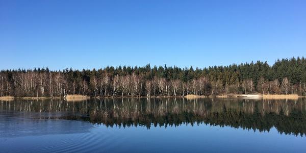 Der Bruchsee westlich von Duingen.