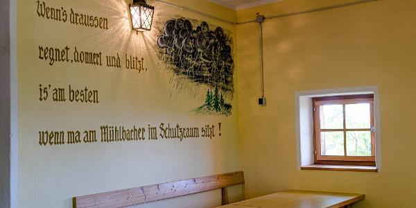 Schutzraum in der Mühlbacher Hütte (c)TV Region OberGraz-Mias PhotoArt