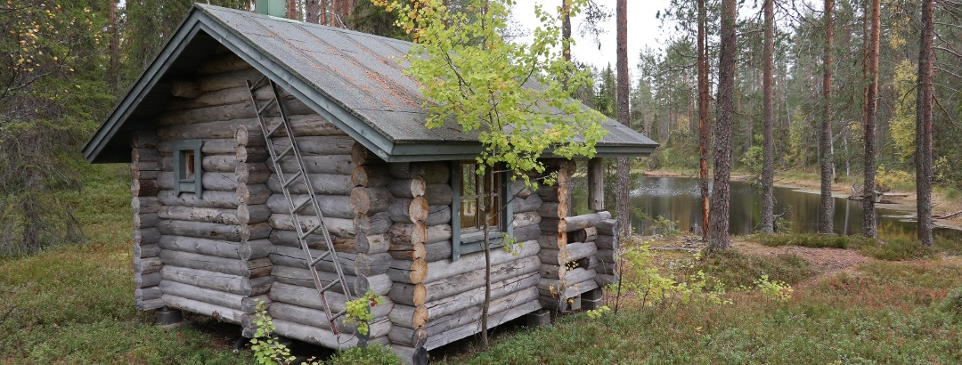 Vorlokin varaustupa sauna, Ukkohalla Finland