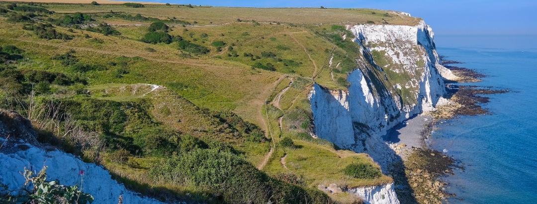 Die weißen Klippen von Dover