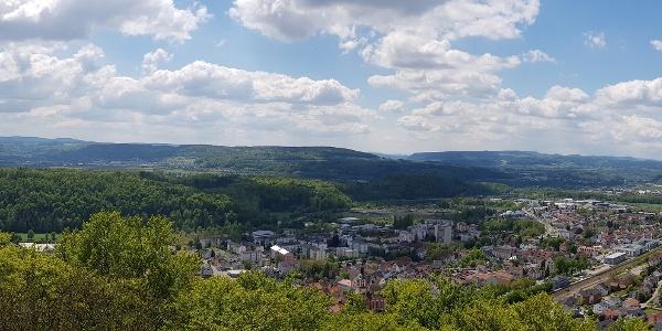 Panoramablick vom Vitibuckturm