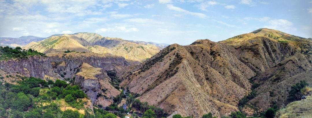 Berglandschaft in Armenien