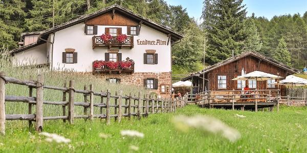 La malga Leadner Alm a Verano, Alto Adige