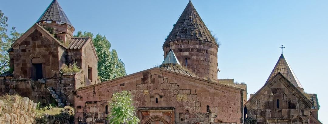 Монастырь Гошаванк в Армении