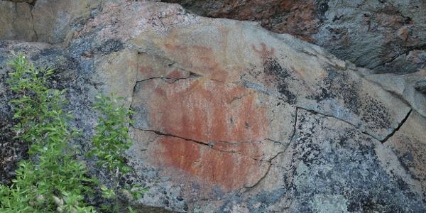 Kolmiköytisien kalliomaalaus