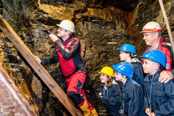Prohlídkový důlní závod Cínový důl