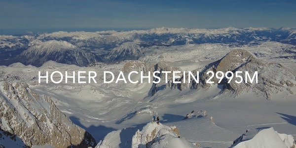 Hoher Dachstein 2995m Skihochtour von Hallstatt