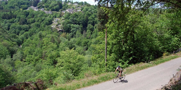 Vue sur La Roche-Canillac