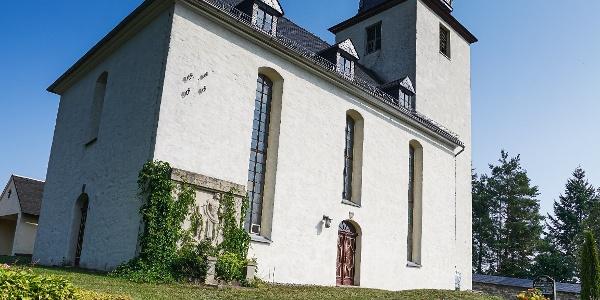 Kirche in Göschitz bei Schleiz