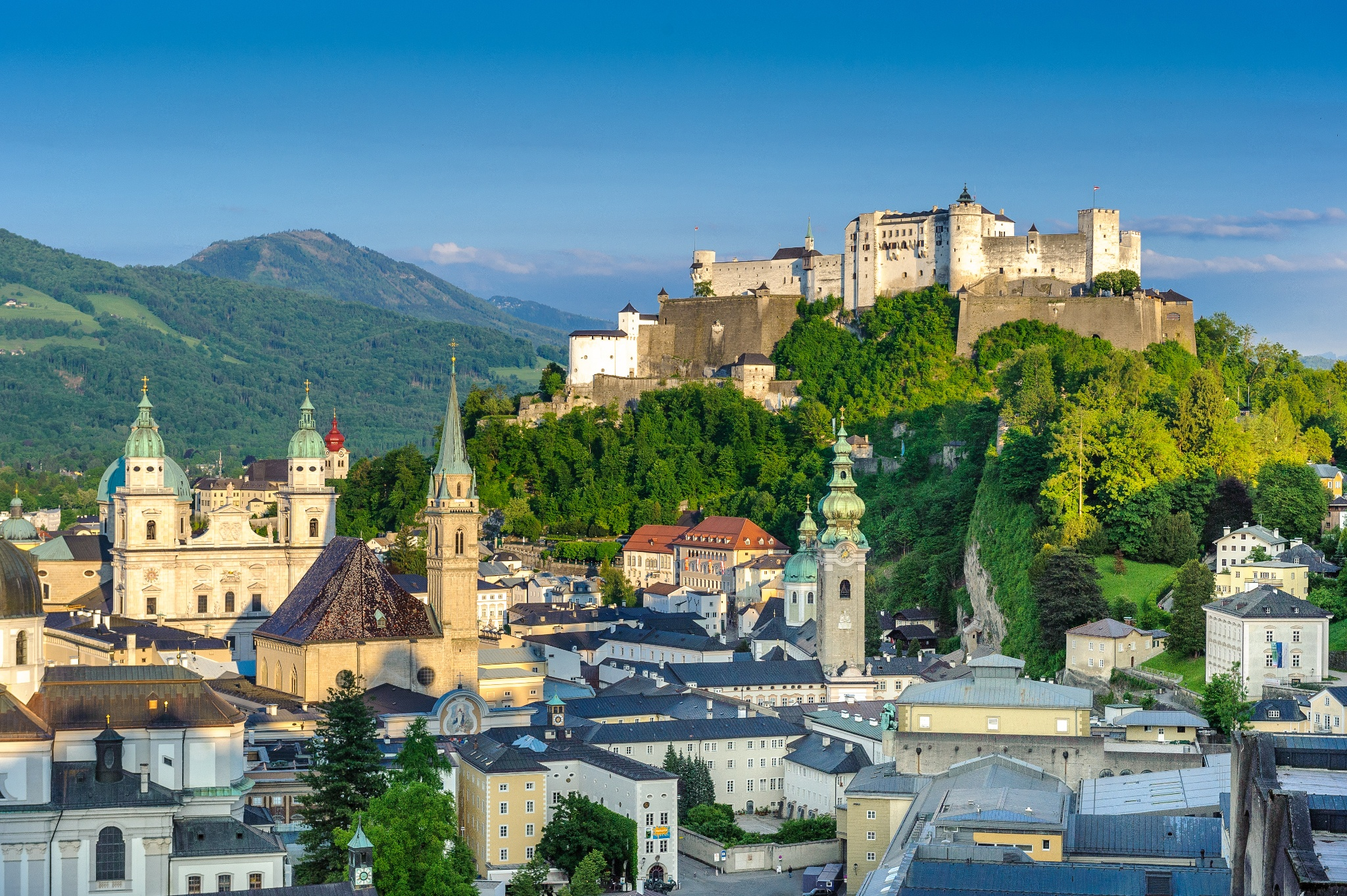 Fortress Hohensalzburg • Stronghold » outdooractive.com