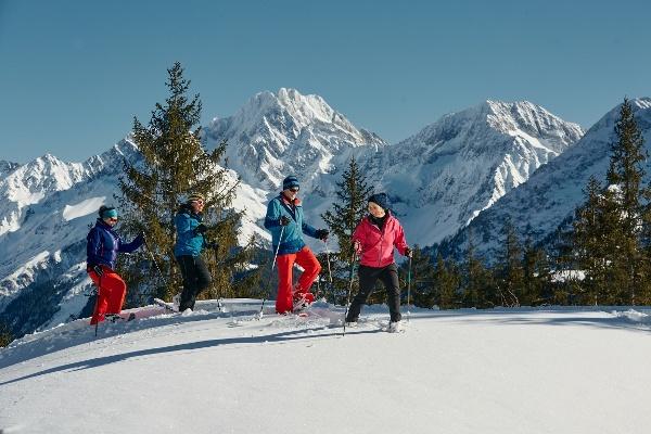 Schneeschuhlaufen Arni