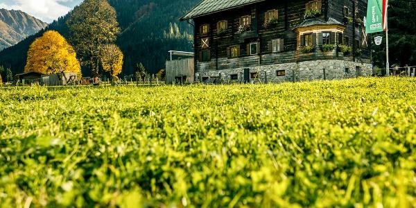 Die Oberlandhütte im Spertental