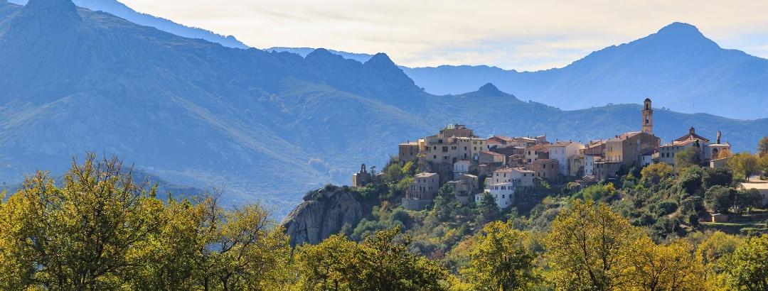 Landschaft auf Korsika