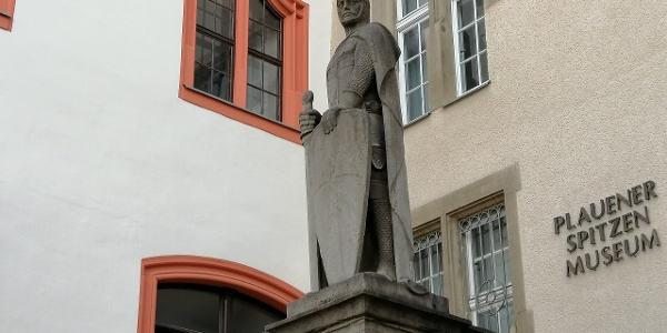 Statue von Heinrich von Plauen, Hochmeister des Deutschen Ordens (1410-13)