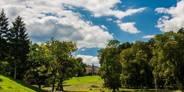 A füzérradványi Károlyi-kastély parkja