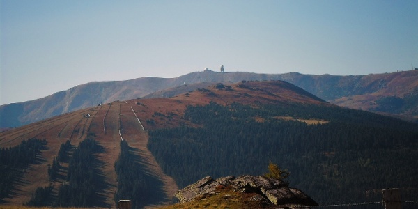 Blick von der Handalm auf die Brandhöhe und Großer Speikkogel
