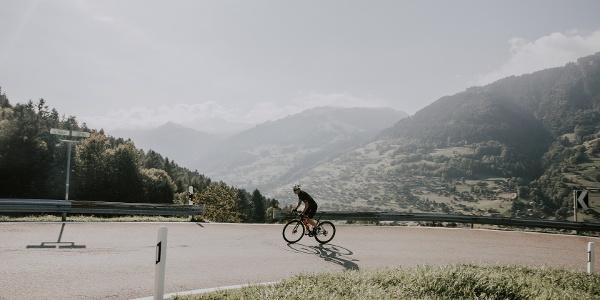 Massongex-Les Giettes climb