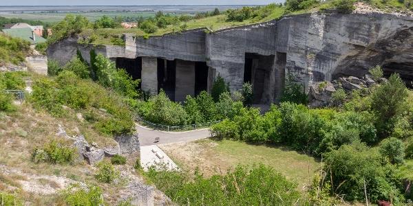 Der Steinbruch in Fertőrákos